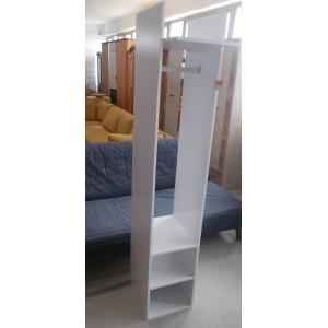 Fehér,nyitott előszobaszekrény